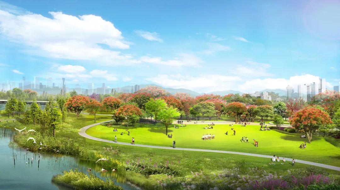 景观跃升!未来的马銮湾美翻了