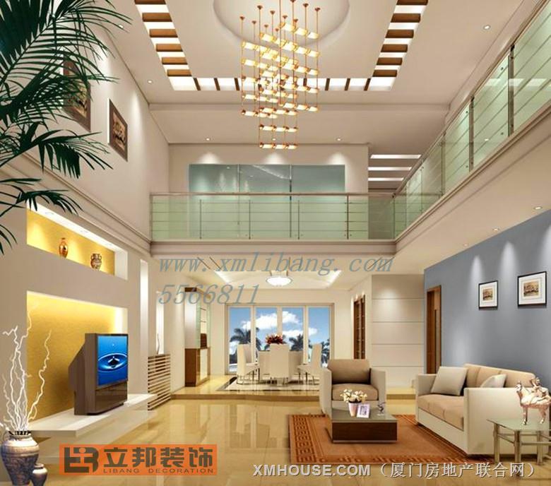 立邦装饰 室内楼中楼作品详情高清图片