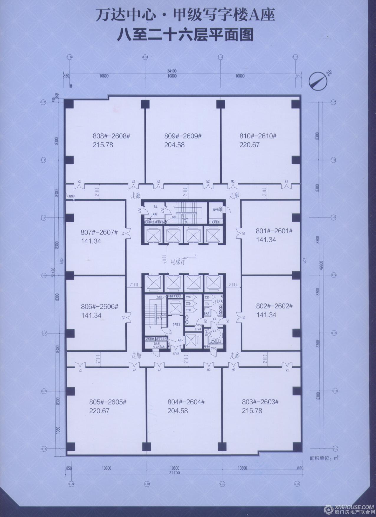 漳州宾馆平面图