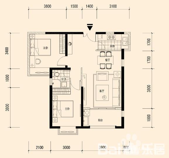 房屋结构:框架