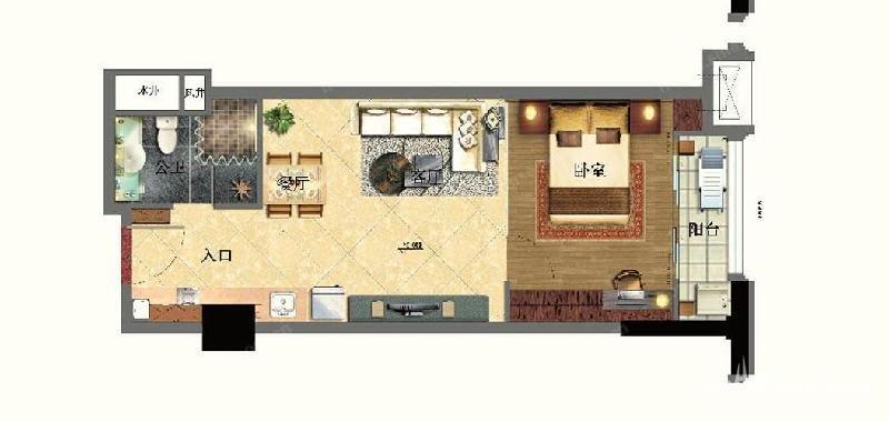 110平楼中楼房屋设计图 自建分享展示