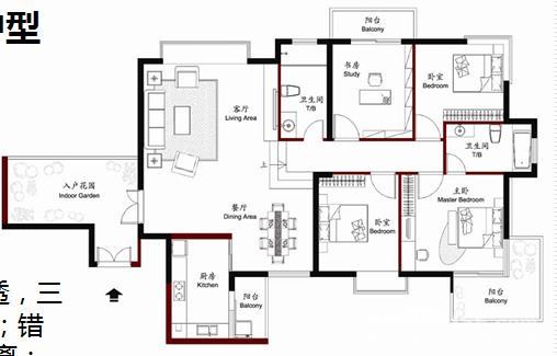 130平方楼中楼设计图