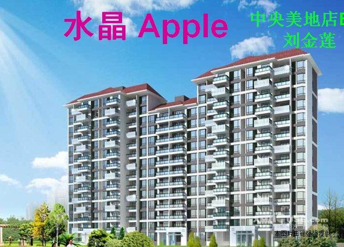 湖里区水晶apple(顶层复式楼)轻松改3房送设计图