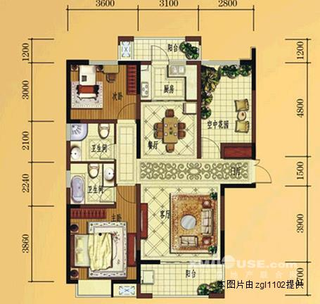 复试房屋框架设计图纸
