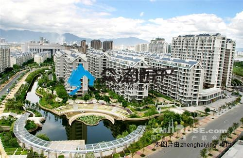 丽岛_4房2厅出售_福州市江南水都中的明星丽岛东端头
