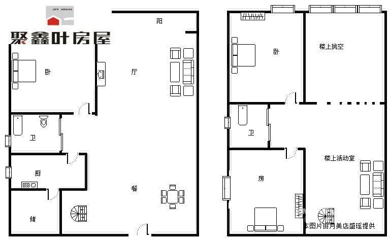 三房一厅一厨一卫设计图装修图片  四房一厅一厨一卫设计图-四房一厅