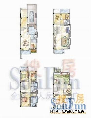 四房一厅地基设计图纸 建房展示