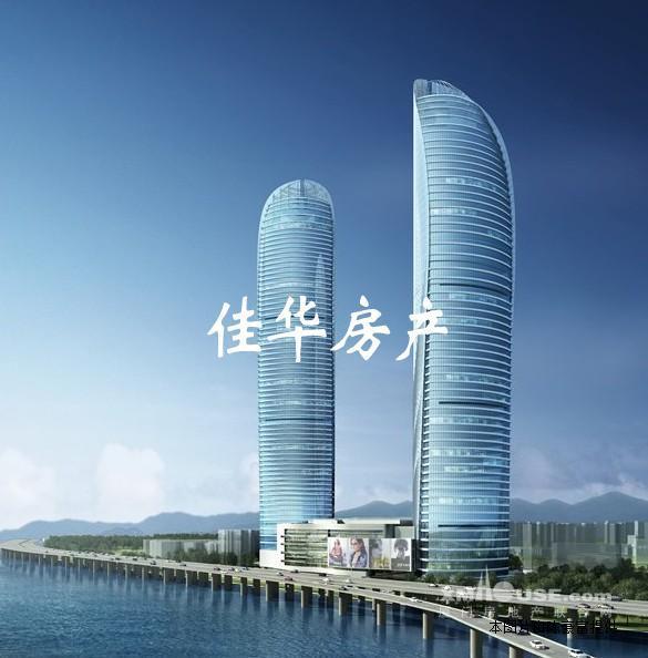 双子塔高层大三房稀有