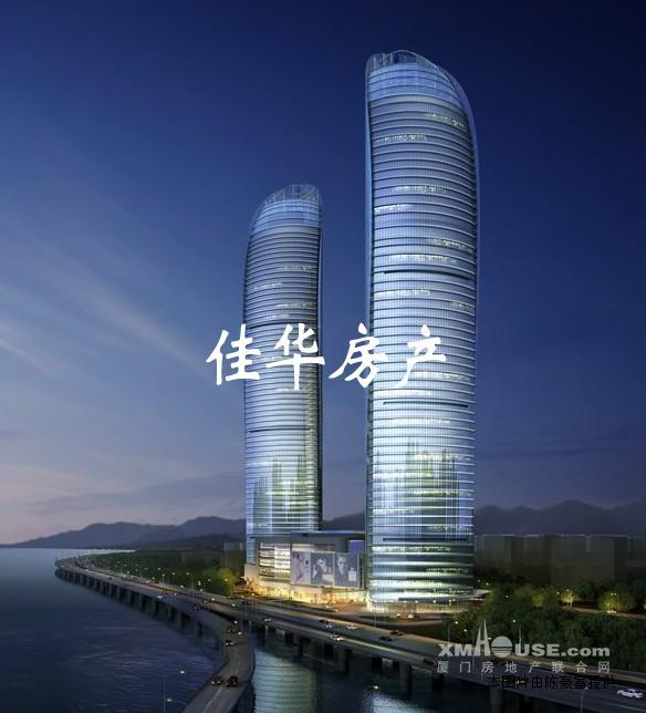 厦门思明区厦大新地标世贸天玺双子塔高层大三房稀有