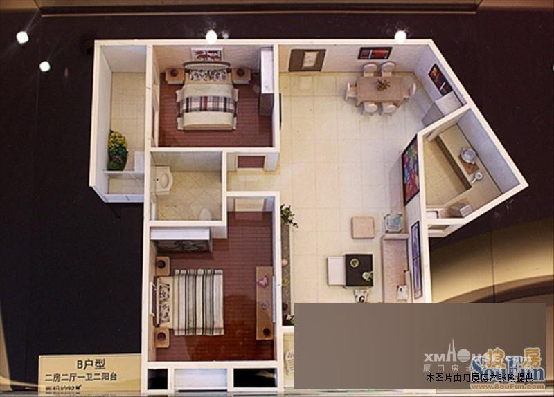 址:集美区地铁一号线,禹州中央海岸2房,朝南仅卖120万 房屋性质:商品