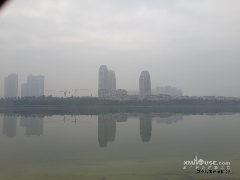 融景湾高级豪宅湖边水库一线湖景房出租