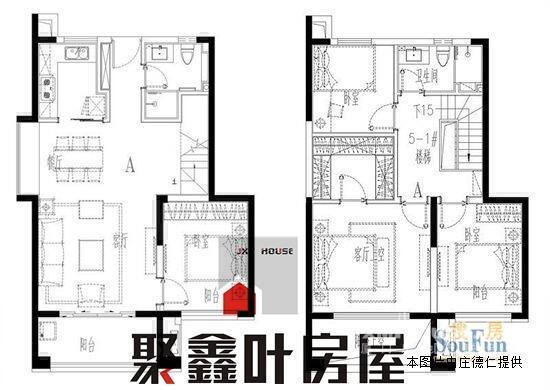 145平方房子设计图
