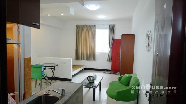 集美灌口铁山新社区 单身公寓40平米 精装修带厨房高清图片