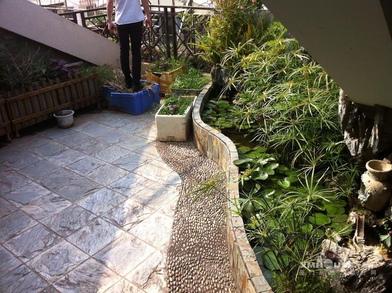阳台鱼池设计效果图分享展示