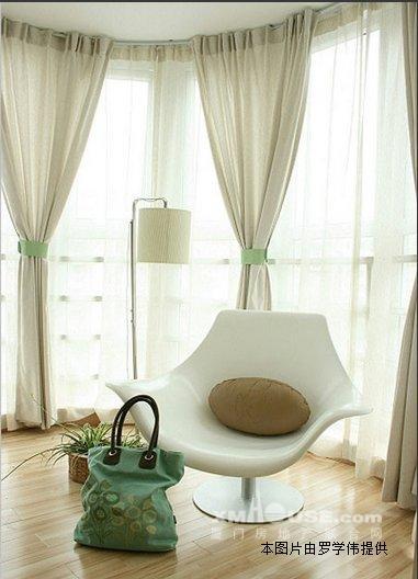 大客厅,带圆弧形阳台主卧,户型绝对喜欢!