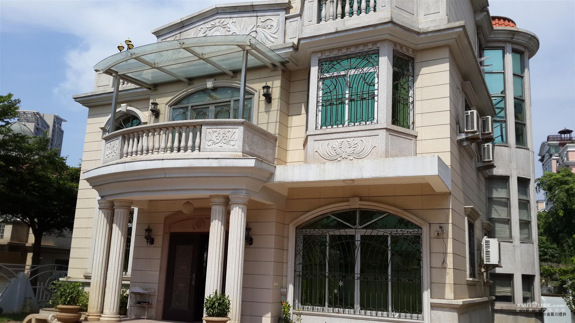 台湾山庄端头带八角独栋别墅出售