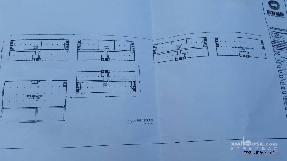 物流仓库平面设计图纸
