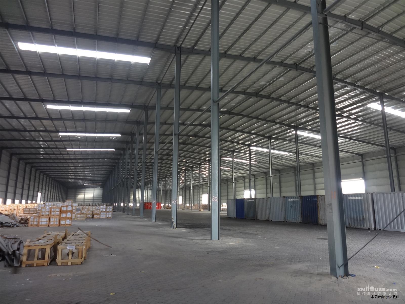 海沧12米高标准钢结构厂房/仓库16000平米出租
