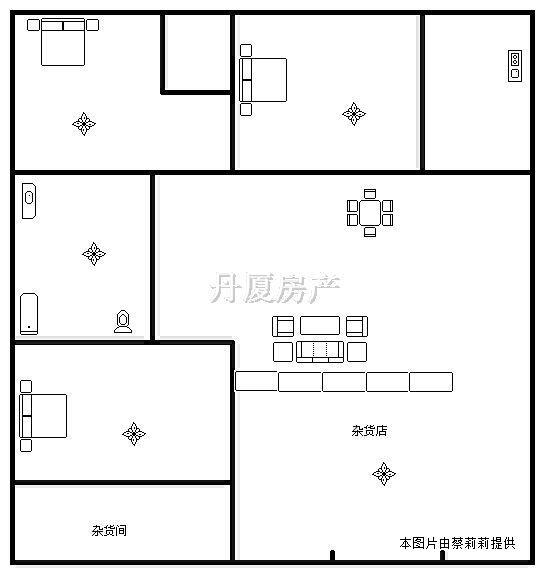 平房子120平方设计图展示
