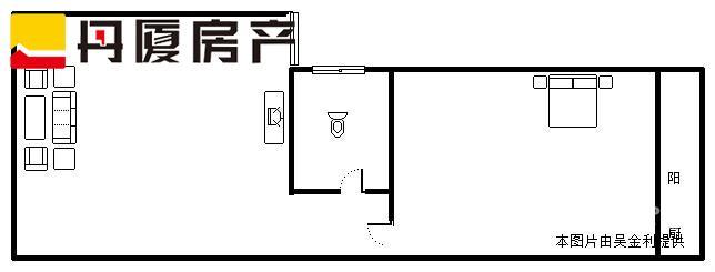 滨北长青交界 嘉华大厦 单身公寓出售 49平 1房1厅