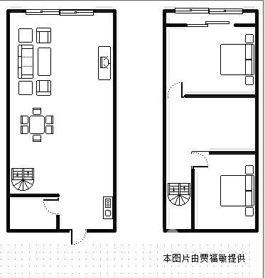 复试装修房子平面图