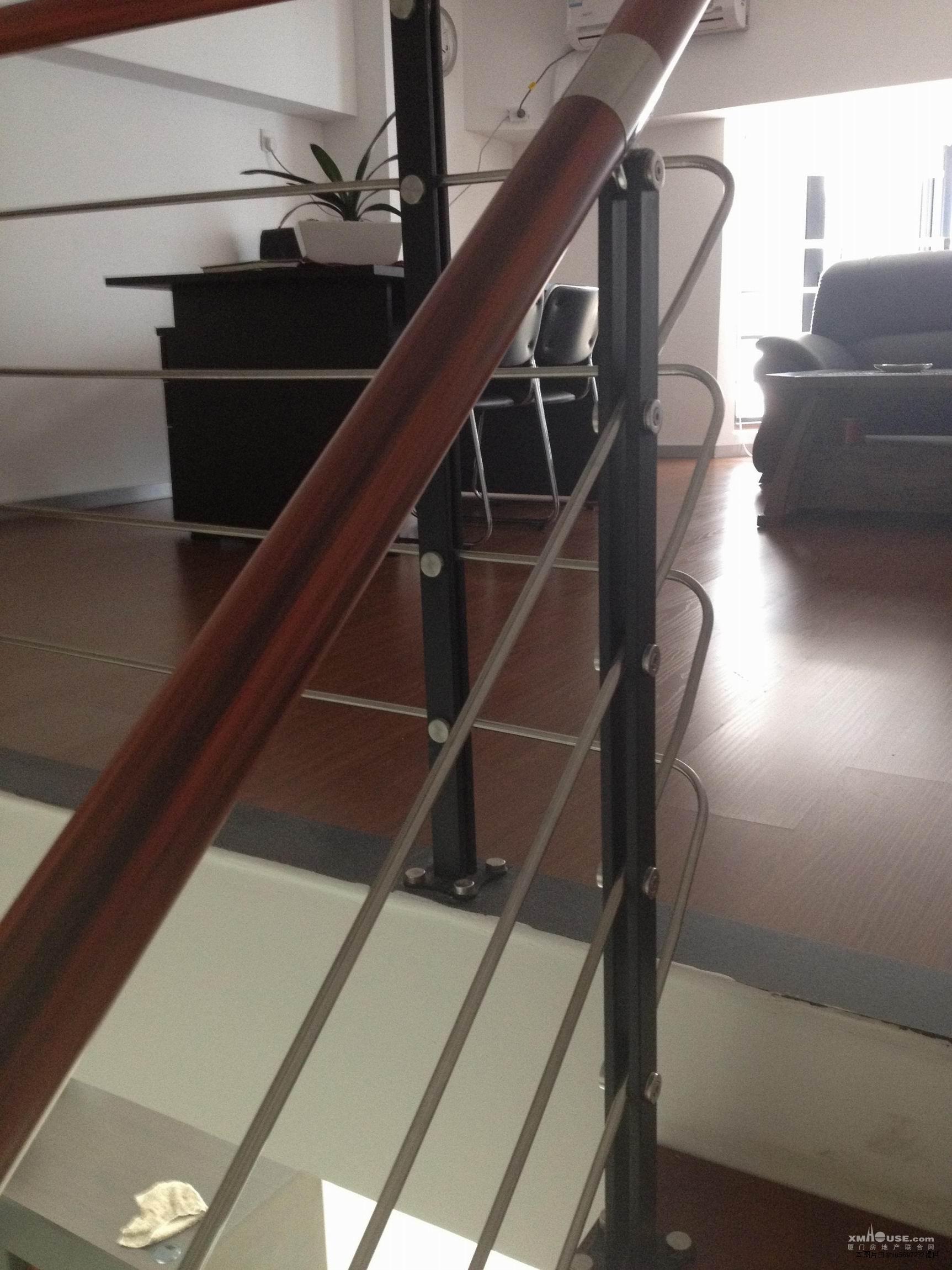 红木楼梯扶手