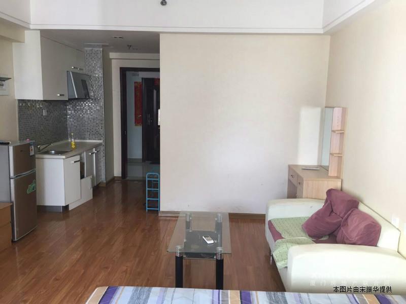 湖里万达单身公寓,全套家具电 仅租2100元/月