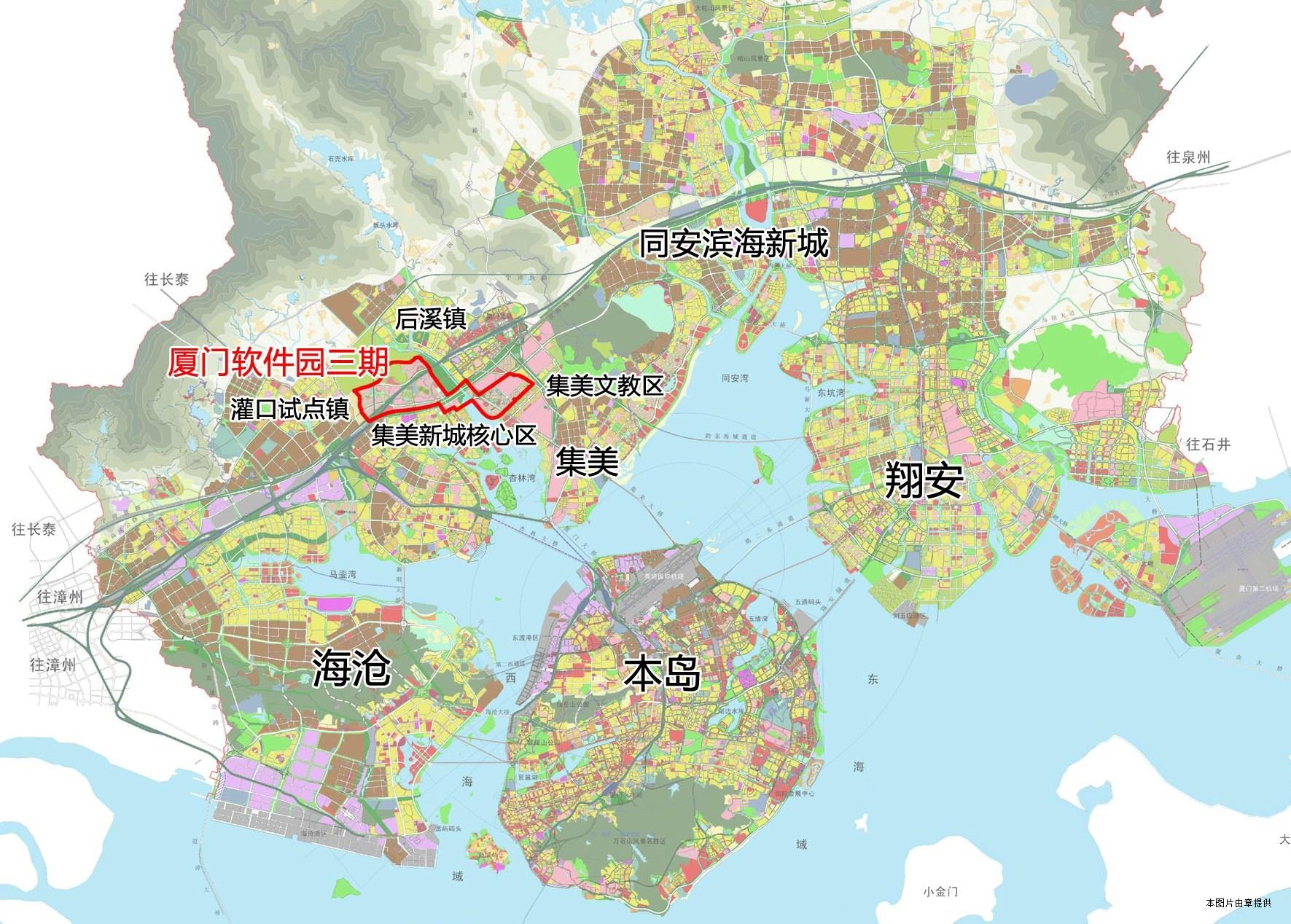 集美手绘地图展示