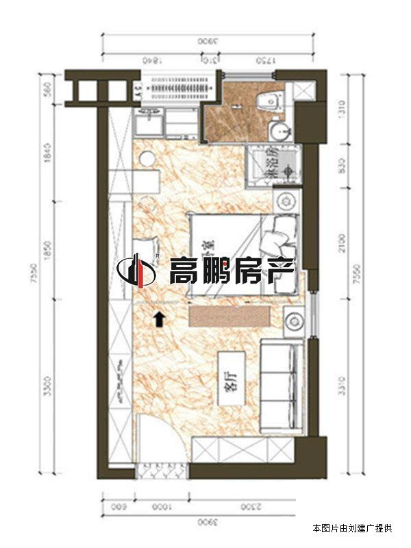 50平米饭店装修图纸