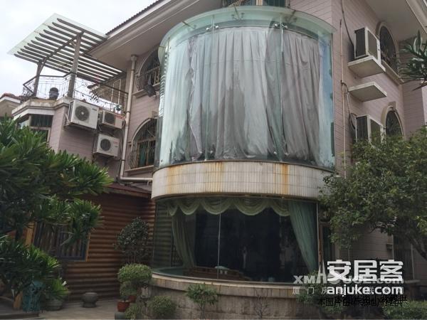 獨棟別墅占地500平私家花園350平三層半送100平酒窖