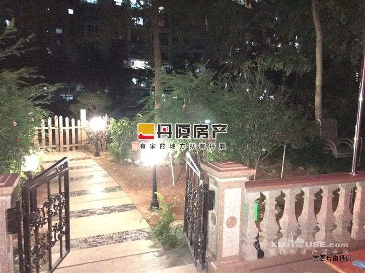 翔鹭花城 送花园 180平使用面积 豪华装修 南北通透正中庭