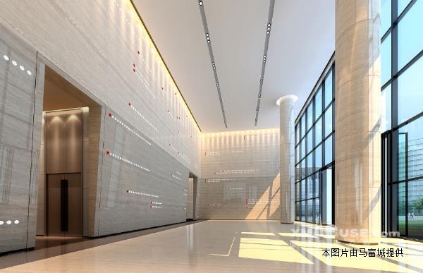 《富城写字楼专案》二市中山公园旁深田大厦精装写字楼 看房方便图片