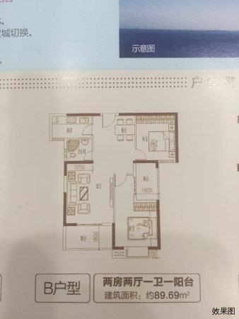 漳州港 鸿源海景城 交房早 旁边就是写字楼 带户口 学区房