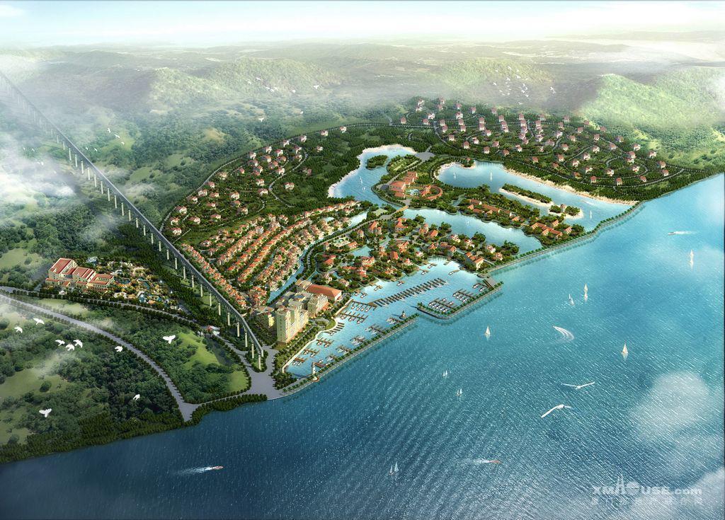 金汤湾海水温泉小镇
