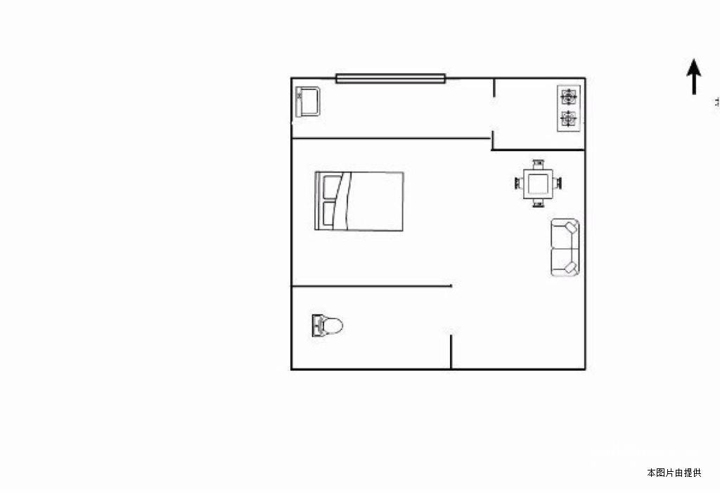 08年社区,精装单身公寓,划片滨北小学,米兰春天,仅163万
