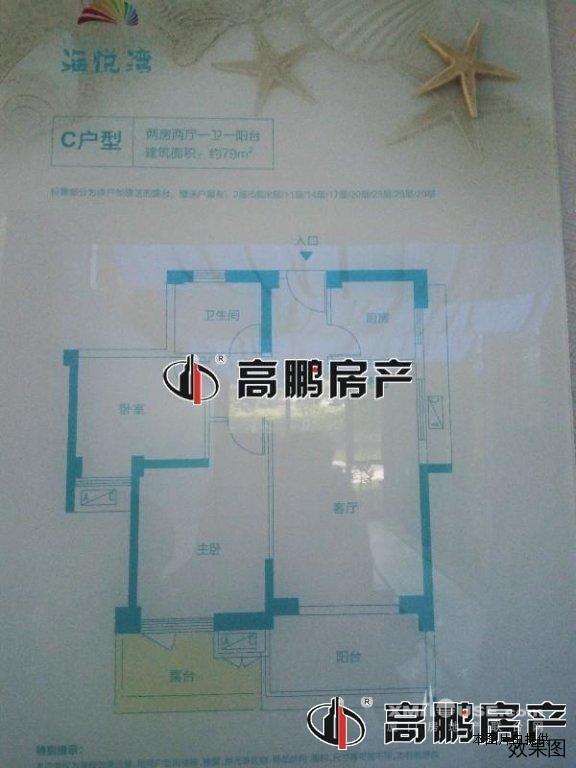 君悦黄金海岸_2房2厅出售_漳州市双鱼岛西侧 - 厦门房