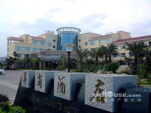 漳州市双鱼岛西侧
