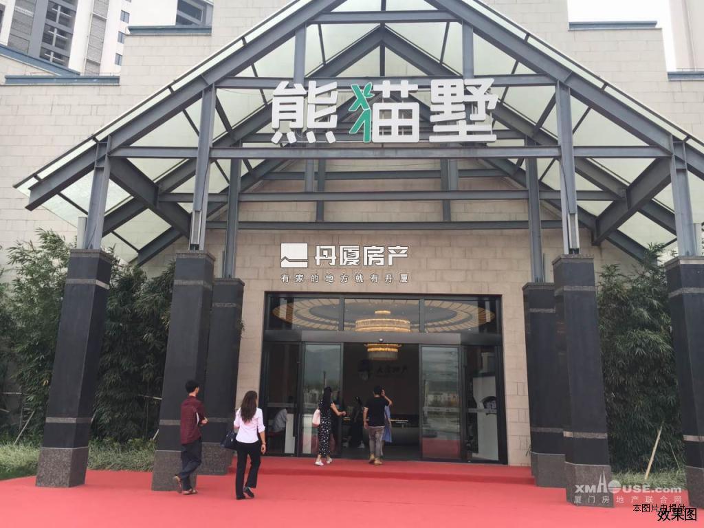 漳州港,熊猫别墅,大唐世家开发,高层看海,配套完善