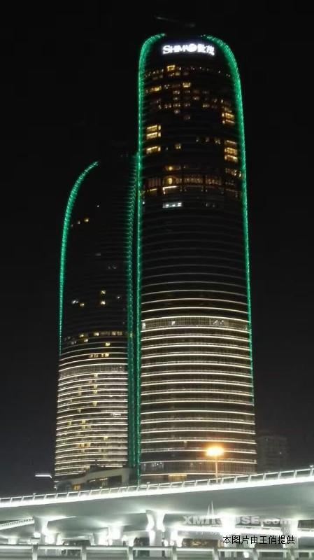 世茂海峡大厦 双子塔