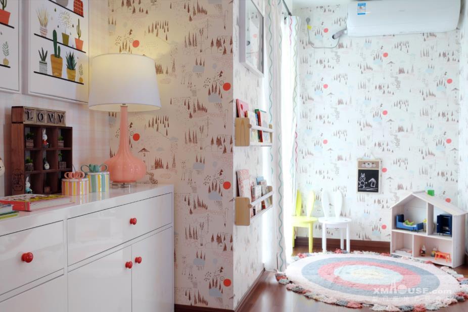 115平复式样板房—卧室