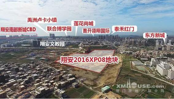 龙湖首开2016XP08地块