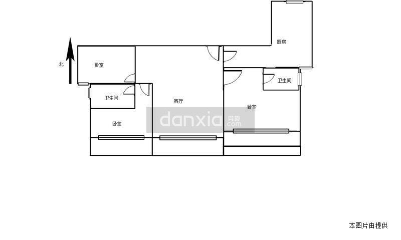 水晶湖郡 毛坯三房出售 客厅主卧朝南 高楼层 环境优美