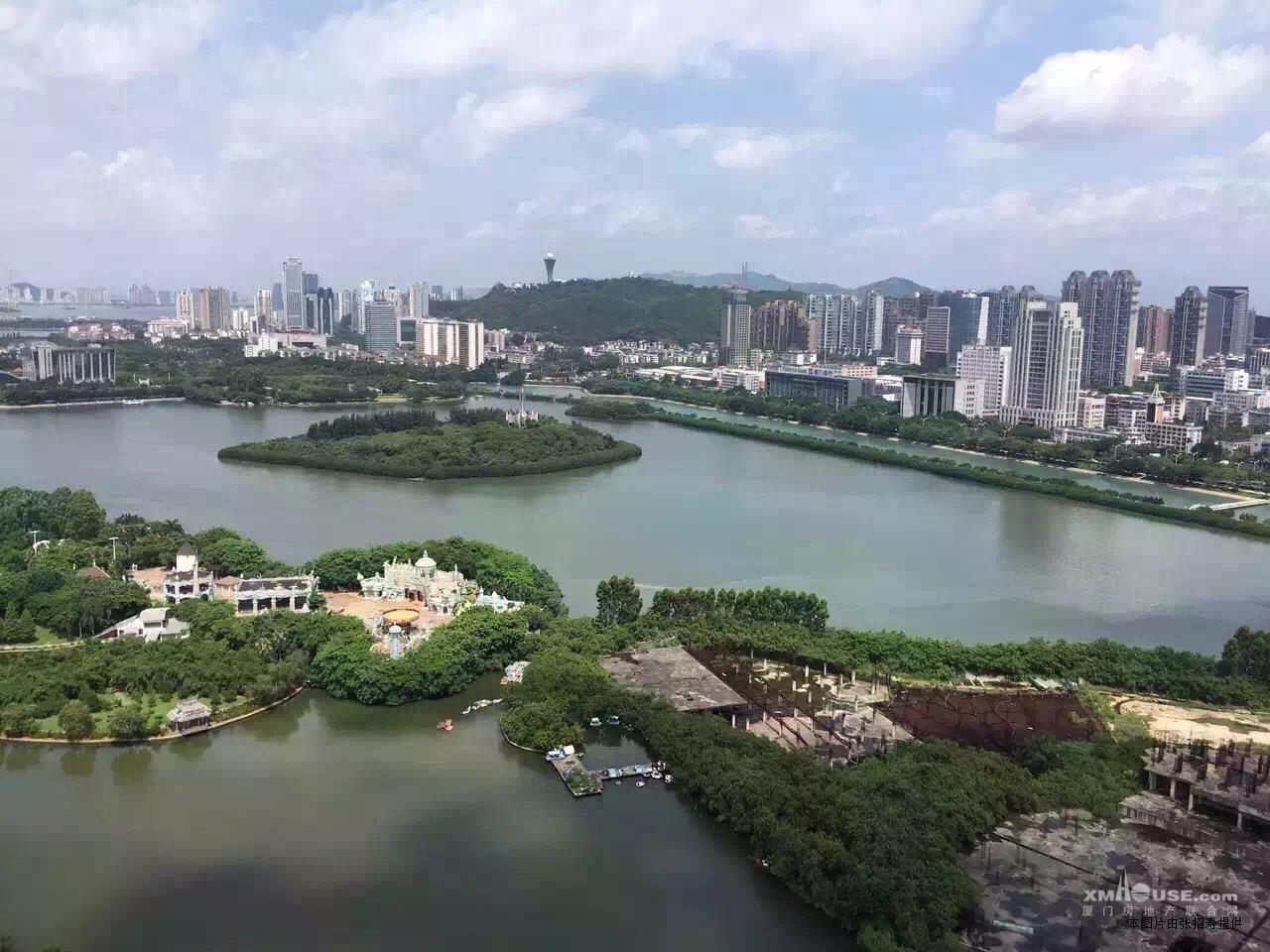 筼筜湖 豪宅之星 鹭岛珍藏 佳苑星河 前排看湖看海 公园