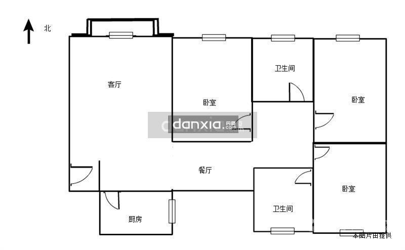 滨北万和春天 金帝花园 电梯3房可改4房 仅售578万 满2