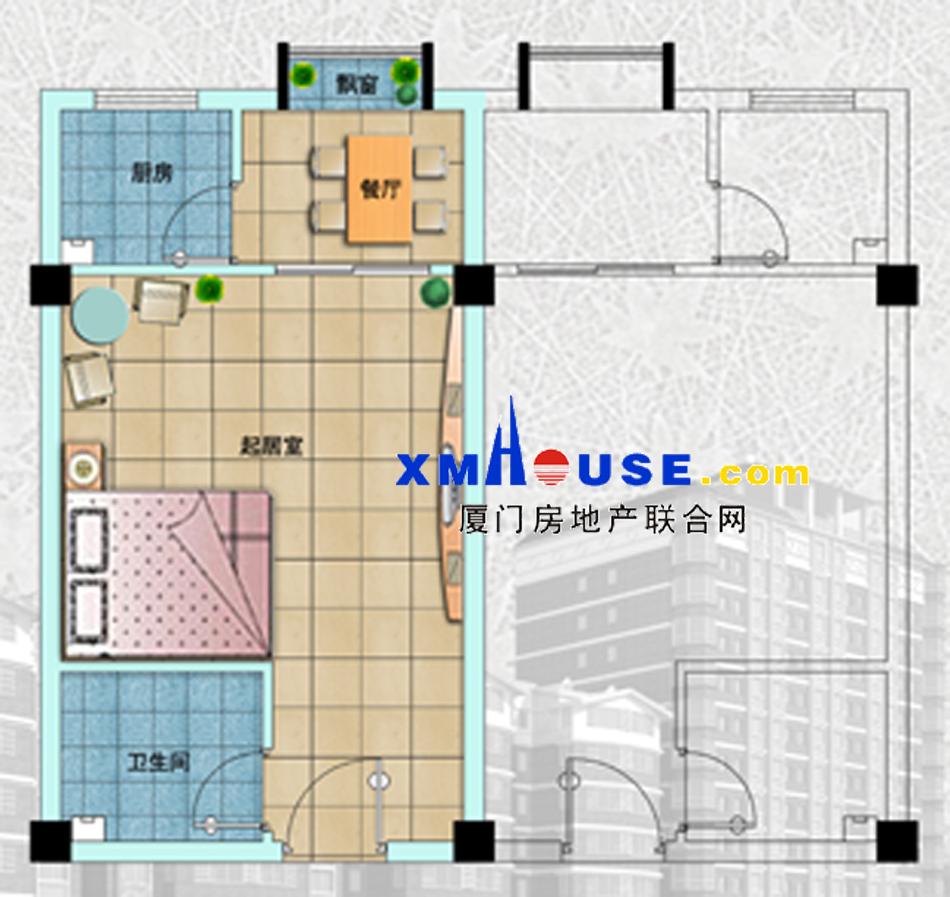 八层商铺楼房平面设计图