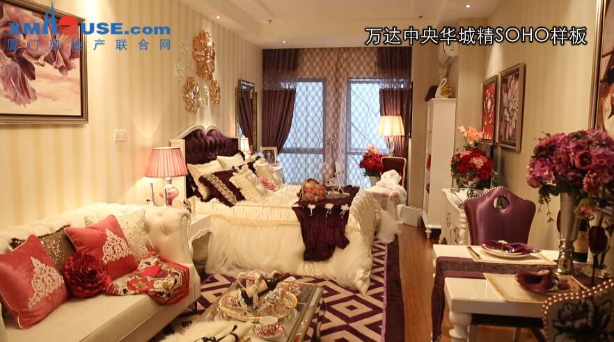 万达中央华城:SOHO户型鉴赏3
