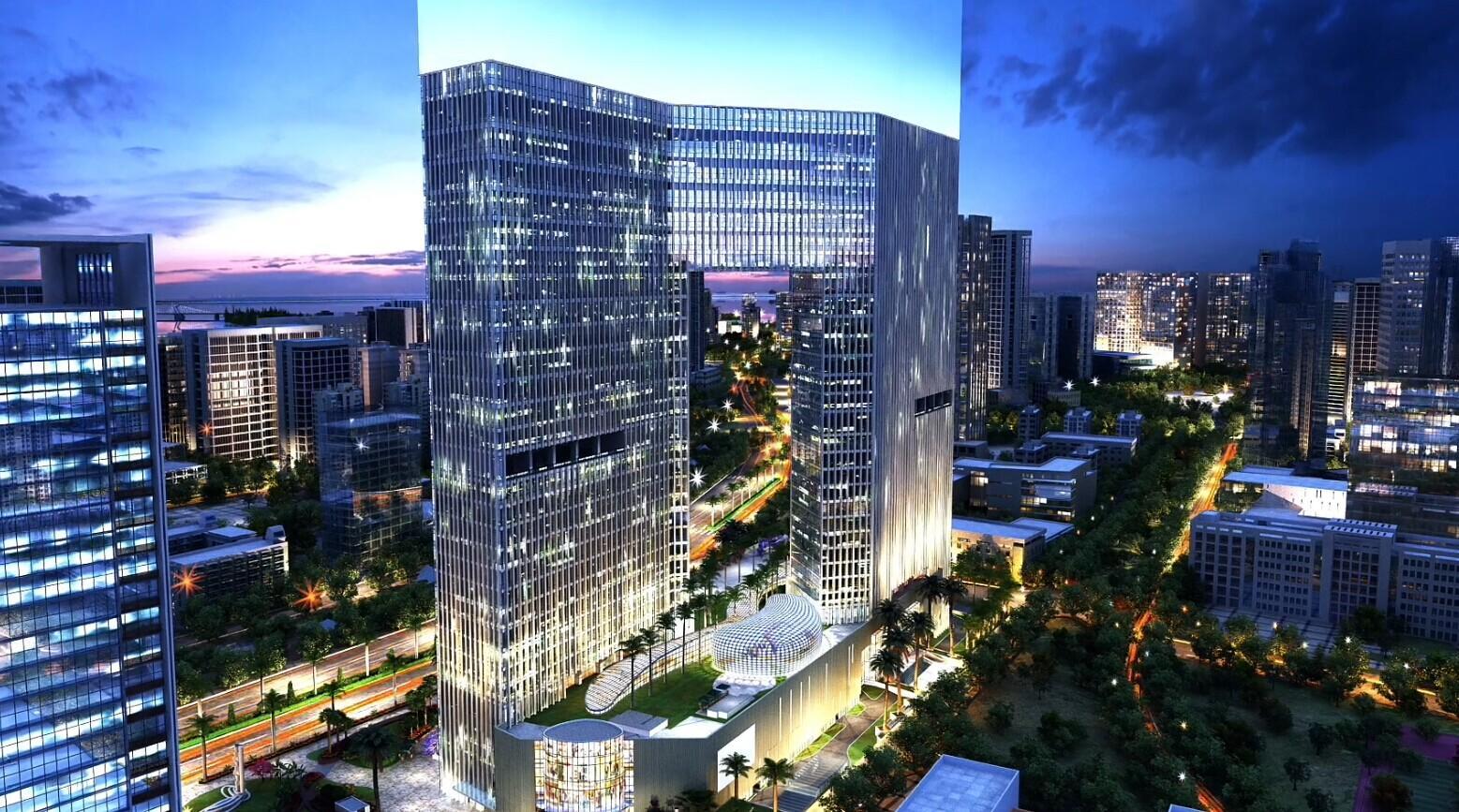 国贸金融中心:铸就两岸商务新地标