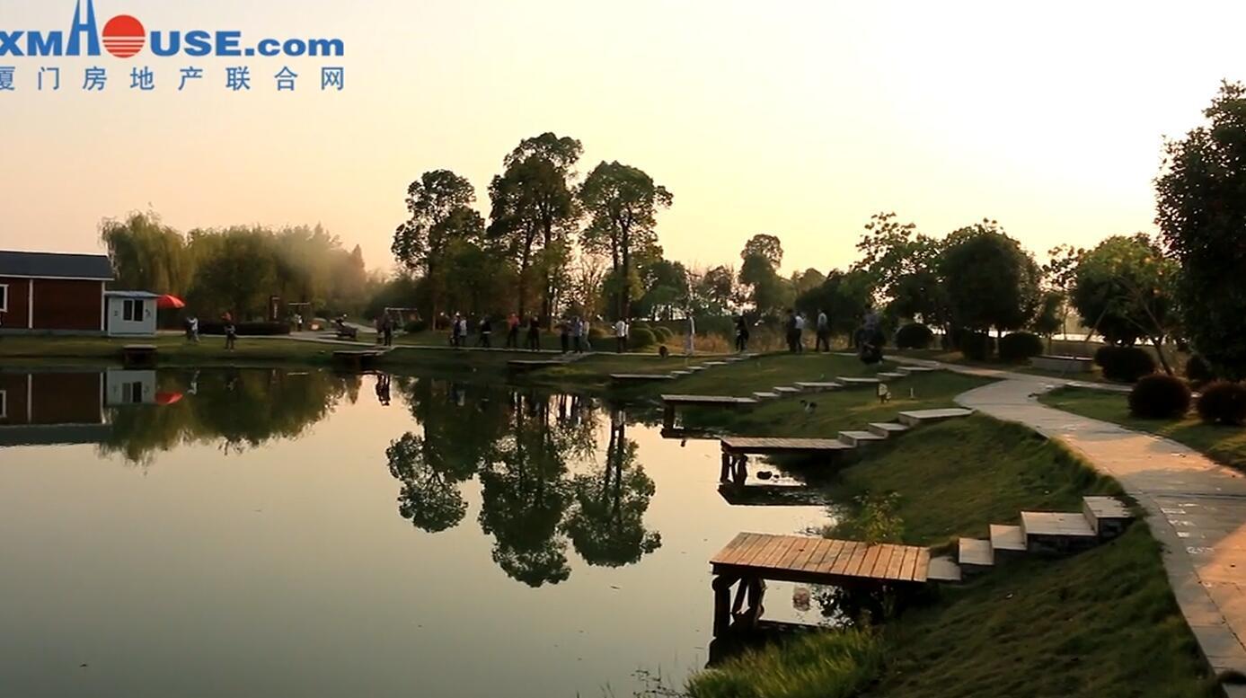 联发品牌之旅:联发鄂州红莲湖项目实景曝光